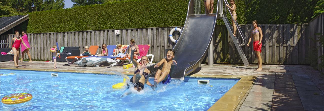 Camping zwembad Overijssel